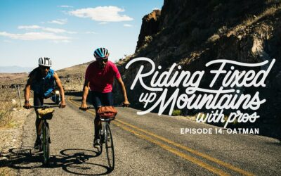 VIDÉO: RIDING FIXED, UP MOUNTAINS, WITH PROS- LÉO RODGERS